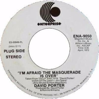 "I'm Afraid The Masquerade Is Over (New 7"")"