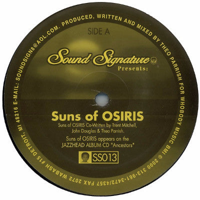 "Suns of Osiris ( New 12"")"