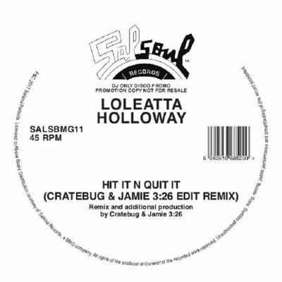 "Hit It N Quit It (Cratebug & Jamie 3:26 Edit Remix) (New 12"")"
