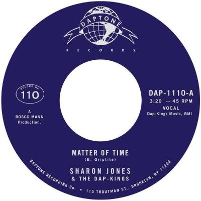 "Matter Of Time / When I Saw Your Face (New 7"")"