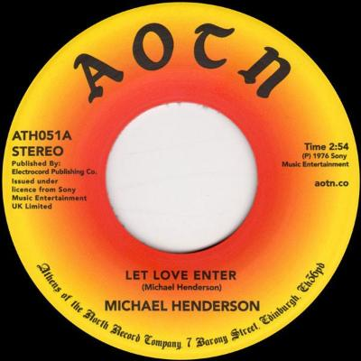 "Let Love Enter / Come To Me (New 7"")"