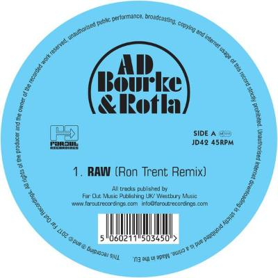 "RAW (includes Ron Trent Remix) (New 12"")"