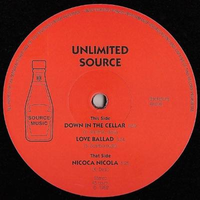 "Down In The Cellar (New 12"")"