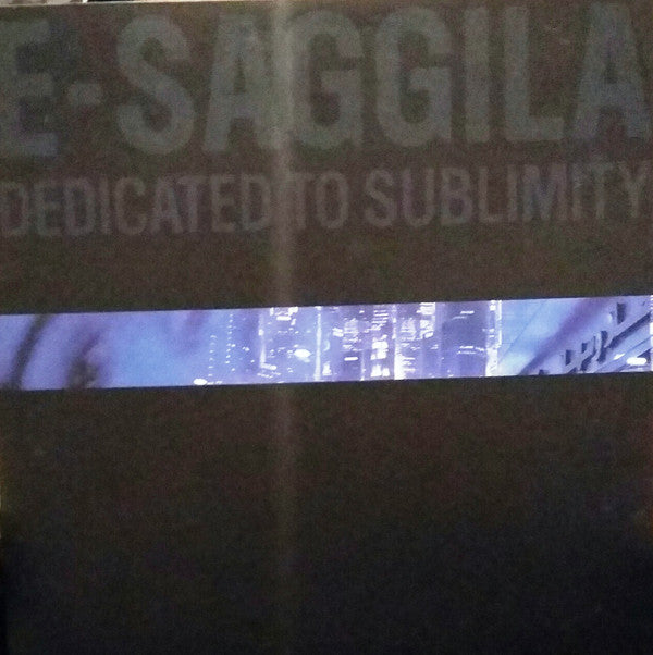 "Dedicated to Sublimity (New 12"")"