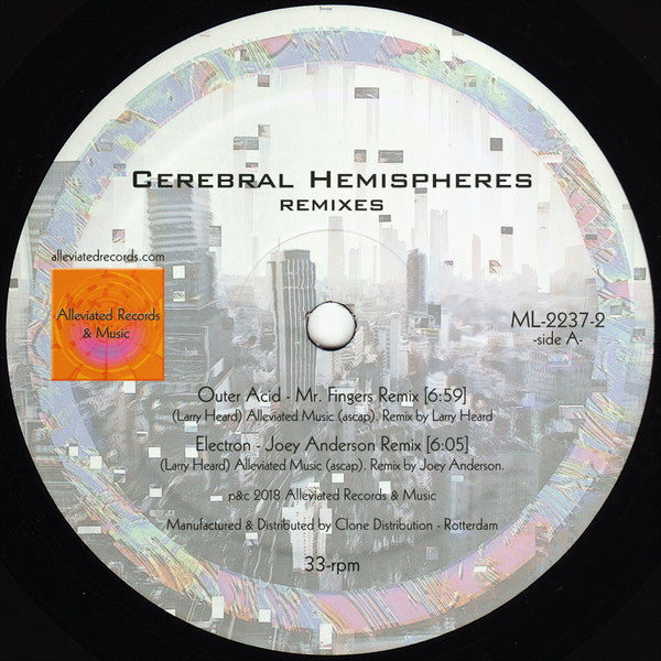 "Cerebral Hemispheres Remixes (New 12"")"