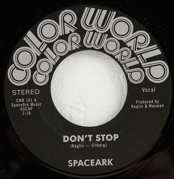 "Don't Stop (New 7"")"
