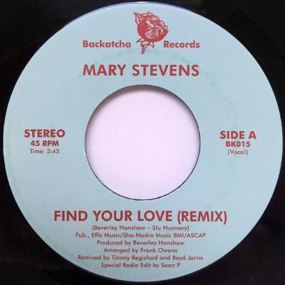 "Find Your Love (New 7"")"