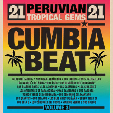 Cumbia Beat Vol. 3 (Peruvian Tropical Gems) (New 2LP)