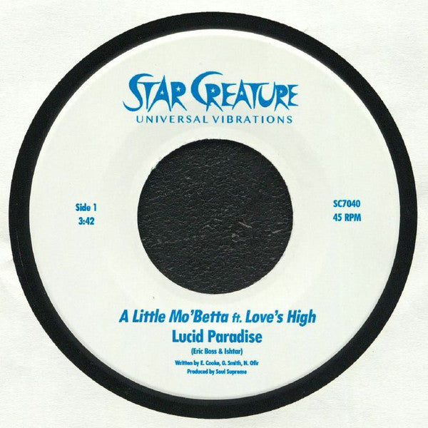 "A Little Mo' Betta / Tonight (Love's High Remix) (New 7"")"