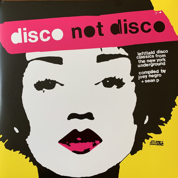 Disco Not Disco (Leftfield Disco Classics From The New York Underground) (New 3LP)