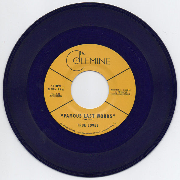 "Famous Last Words b/w The Dirty (New 7"")"