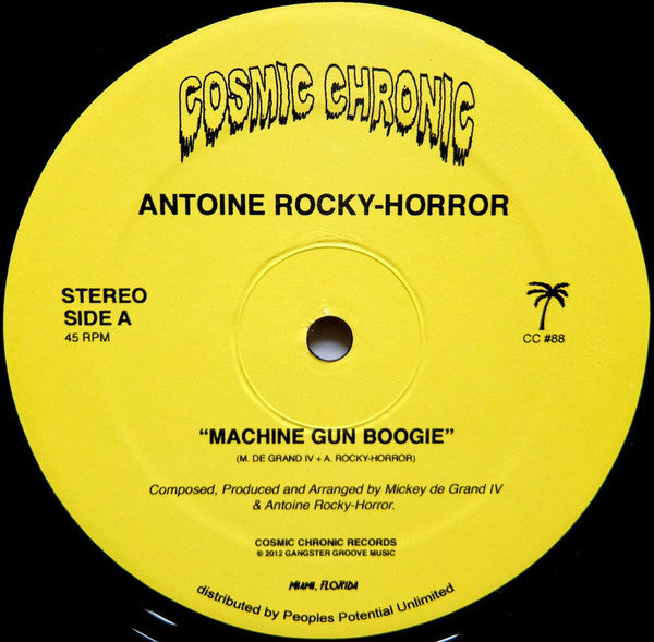 "Machine Gun Boogie (New 12"")"