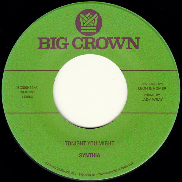 "Tonight You Might (New 7"")"