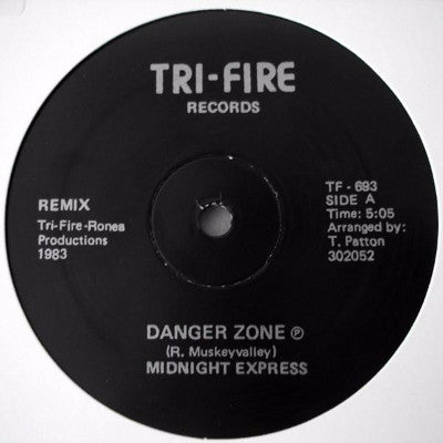 "Danger Zone (New 12"")"