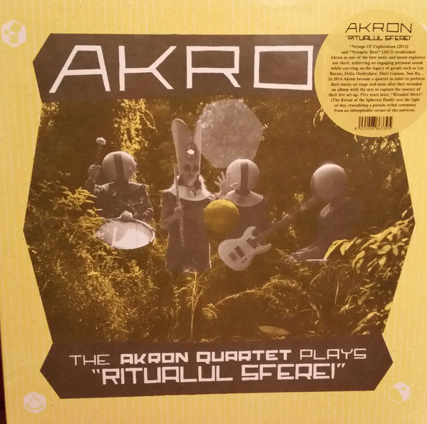"The Akron Quartet Plays ""Ritualul Sferei"" (New LP)"