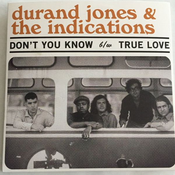 "Don't You Know (New 7"")"