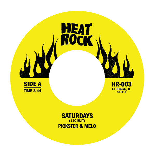 "Saturdays (110 Edit) / It's Like Butter (New 7"")"