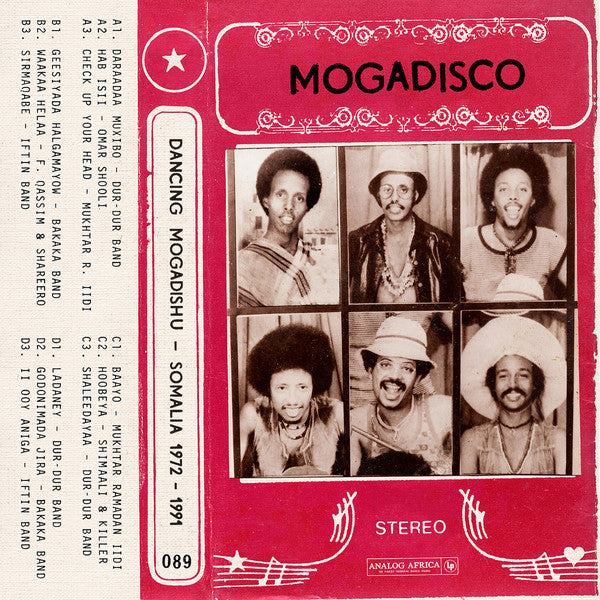 Mogadisco - Dancing Mogadishu 1972 - 1991 (Somalia 1972-1991) (New 2LP)