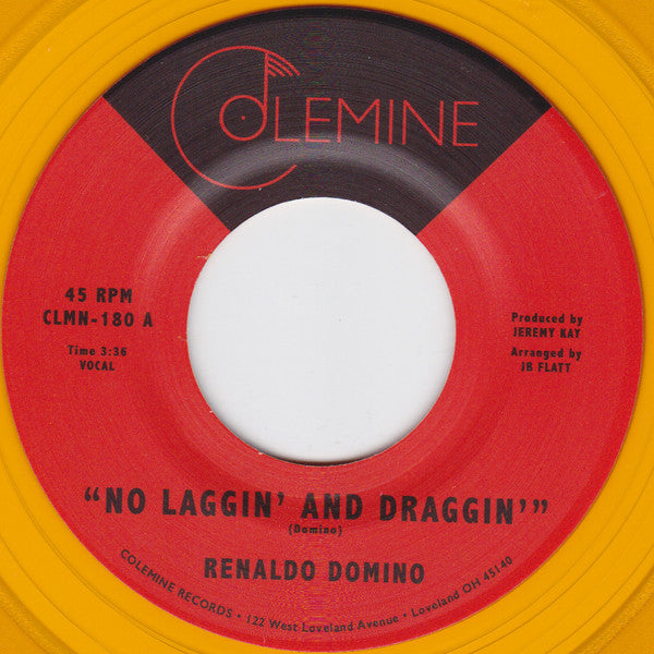 "No Laggin' And Draggin' / Give Up The Love (New 7"")"
