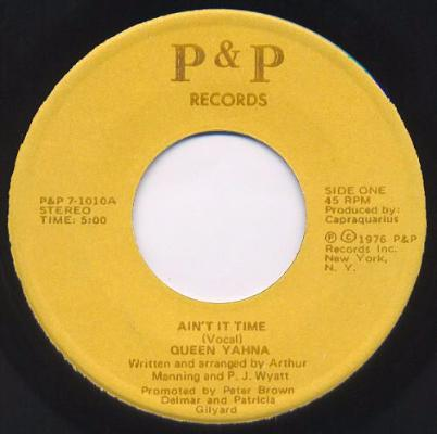 "Ain't It Time (New 7"")"