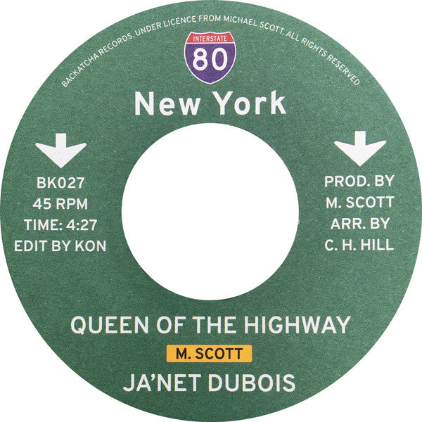 "Queen Of The Highway b/w Standing There (New 7"")"