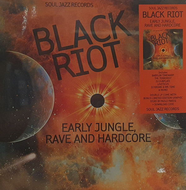 Black Riot (Early Jungle, Rave And Hardcore) (New 2LP)