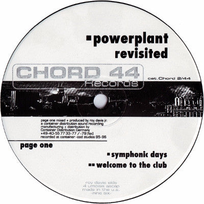 "PowerPlant Revisted (New 12"")"
