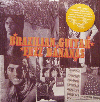 Brazilian Guitar Fuzz Bananas (New 2LP)