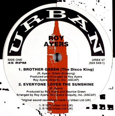 "Brother Green (The Disco King) (Used 12"")"