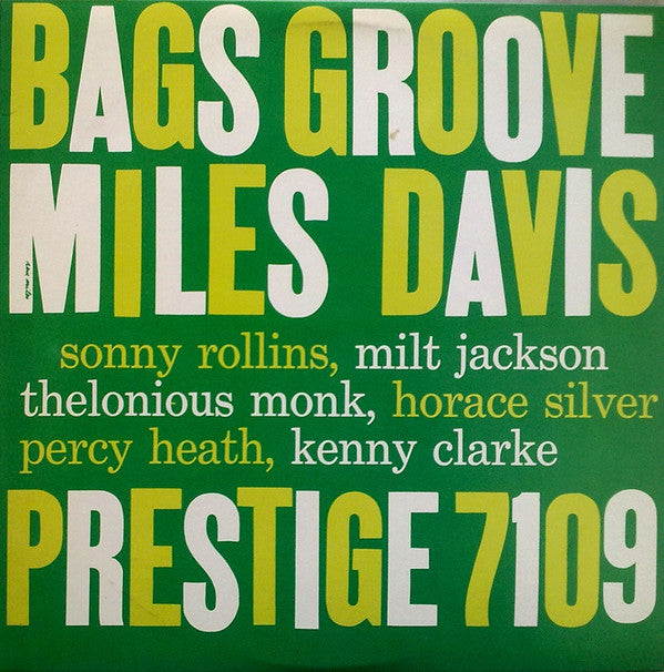 Bags Groove (New LP)