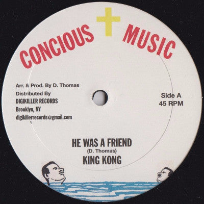 "He Was A Friend / Try Not I (New 12"")"