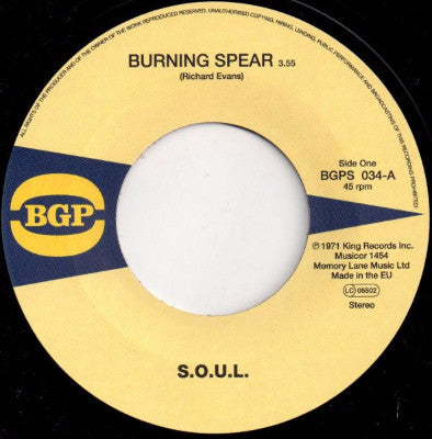 "Burning Spear (New 7"")"