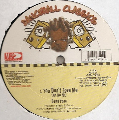 "You Don't Love Me (No No No) (New 12"")"