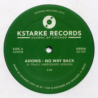 "No Way Back (New 12"")"