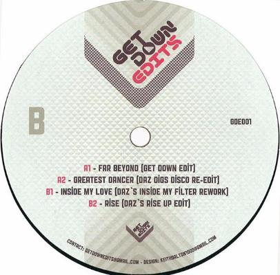 "Get Down Edits Vol. 1 (New 12"")"