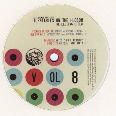 "Turntables On The Hudson Vol. 8: Reflecting Cielo (New 12"")"