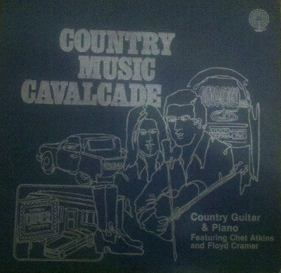 Country Music Cavalcade Country Guitar And Piano (Used 3LP)
