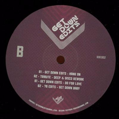 "Get Down Edits Vol. 2 (New 12"")"