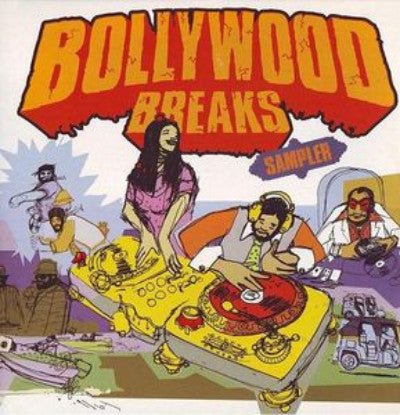 Bollywood Breaks Sampler (Used 2LP)