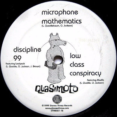 "Microphone Mathematics (Used 12"")"