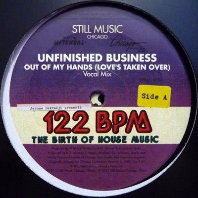 "Out Of My Hands (Love's Taken Over) (New 2 x 12"")"