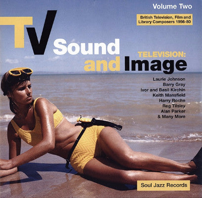 TV Sound And Image: British Television, Film And Library Composers 1956 - 80, Volume Two (New 2LP)