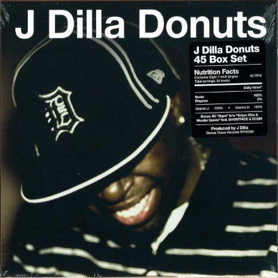 "Donuts (New 8 x 7"" Box Set)"
