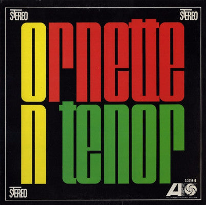 Ornette On Tenor (New LP)