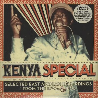 "Kenya Special (Selected East African Recordings From The 1970s & '80s) (New 3LP + 7"")"