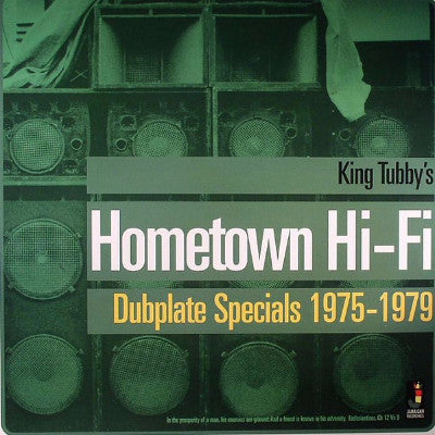 King Tubby's Hometown Hi-Fi (New LP)