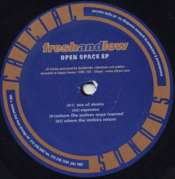 "Open Space EP (New 12"")"