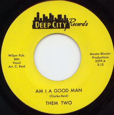 "Am I Good Man (New 7"")"