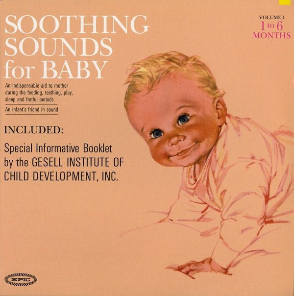 Soothing Sounds For Baby ( New 3LP)