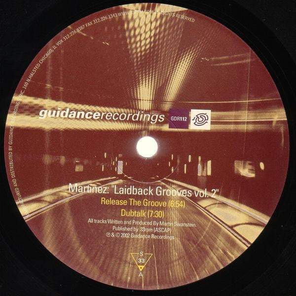 "Laidback Grooves Vol. 2 (New 12"")"